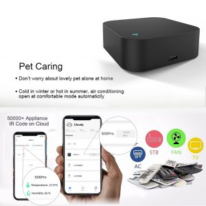 S06Pro Tuya WiFi Infrared Rays Remote Controls Temperature Humidity Sensors APP Voice Control Compatible with Alexa 1