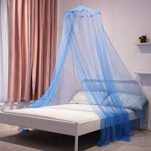 YanYangTian Mosquito Net Outdoor Tent Folding Bed Canopy Bed Curtain Repellent Tent Insect Circular Mosquito Net 1