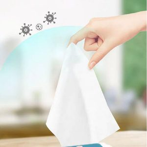 1 Pack of 60Pcs 75% Alcohol Disinfecting Wipes Disinfection Cleaning Wet Wipes Used for Skin Watch Cleaning and Sterilization