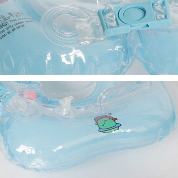 1 Pcs Great Neck Ring Float Circle for Baby Bathing 10