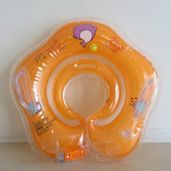 1 Pcs Great Neck Ring Float Circle for Baby Bathing