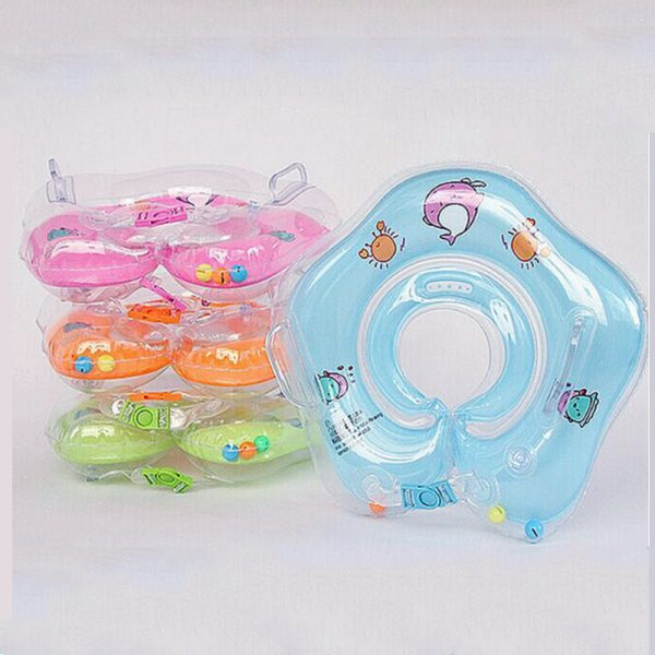 1 Pcs Great Neck Ring Float Circle for Baby Bathing 6