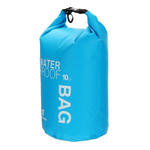 10L Outdoor Swimming Air Inflation Floating Mobile Phone Camera Storage PVC Waterproof Bag