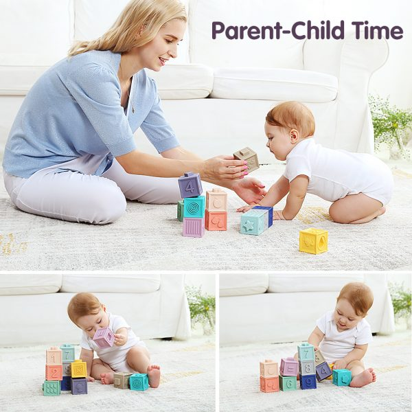 12 Piece Toddlers Play Blocks 3