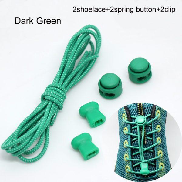 22 Colors Pair Elastic Shoe Laces 2