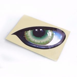 2pcs Car Decal Stickers Cat Eyes