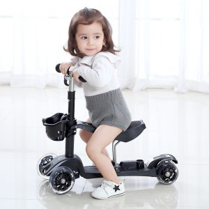 3 Wheel Scooter Removable Seat For Kids