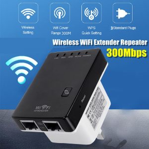300Mbps Wireless Range WiFi Repeater Signal Booster Amplifier Router F/ Extender