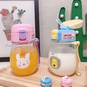 350ml Baby Sippy Cup Straw Bottle