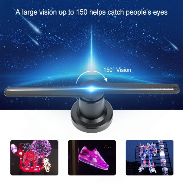 3D Hologram Projector Electric Device