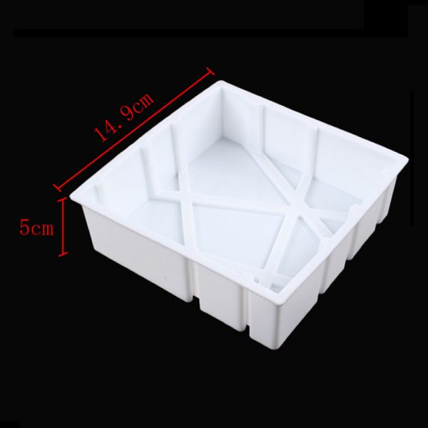 3pcs 3D Baking Molds Silicone Shapers 1