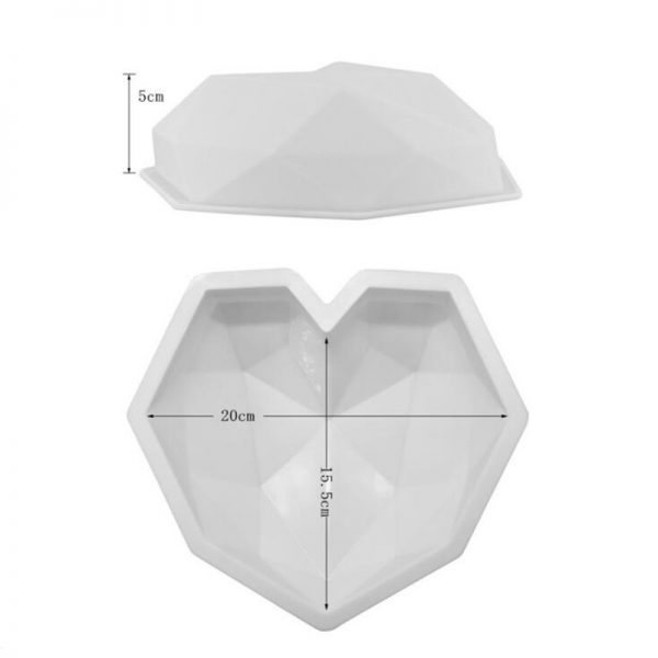 3pcs 3D Baking Molds Silicone Shapers 2