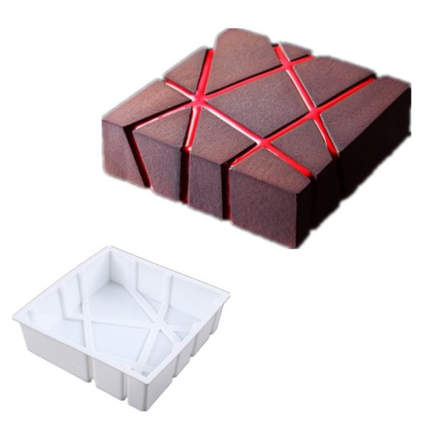 3pcs 3D Baking Molds Silicone Shapers 3