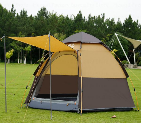 5-8 Persons Outdoor Portable Camping Tent