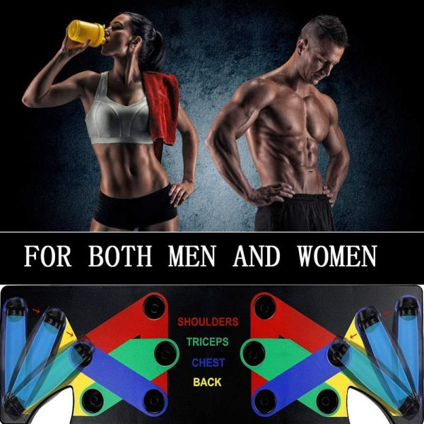9 in 1 Push Up Board Fitness Equipment 3