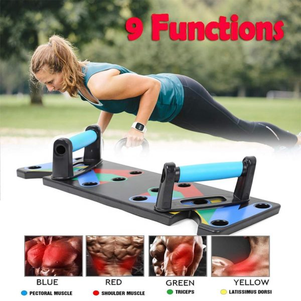 9 in 1 Push Up Board Fitness Equipment 4