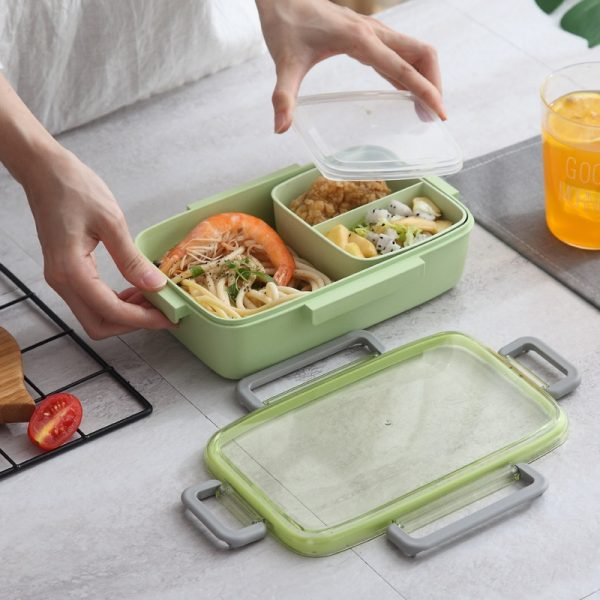 Adult Lunch Box Microwavable Container