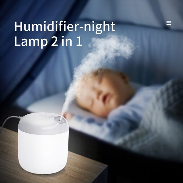 Air Purifier Humidifier With Night Light