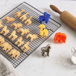 Animal Cookie Cutters Mold Set (4pcs)