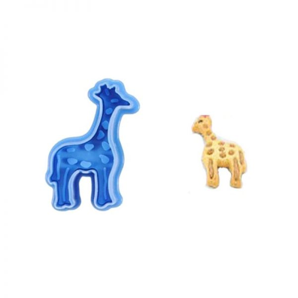 Animal Cookie Cutters Mold Set 4pcs 4