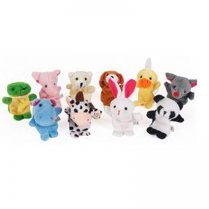 Animal Finger Puppets Educational Toys (10pcs)