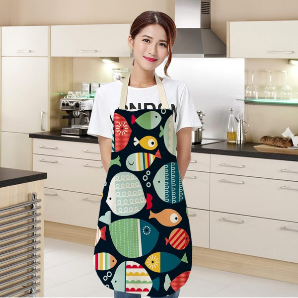 Apron For Kitchen Cute Cooking Apron 1