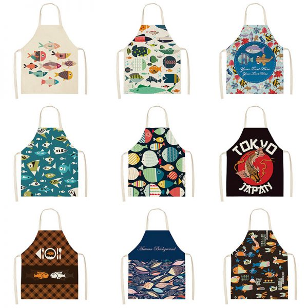 Apron For Kitchen Cute Cooking Apron 2