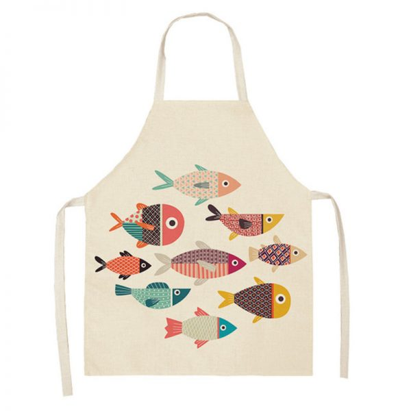 Apron For Kitchen Cute Cooking Apron 3