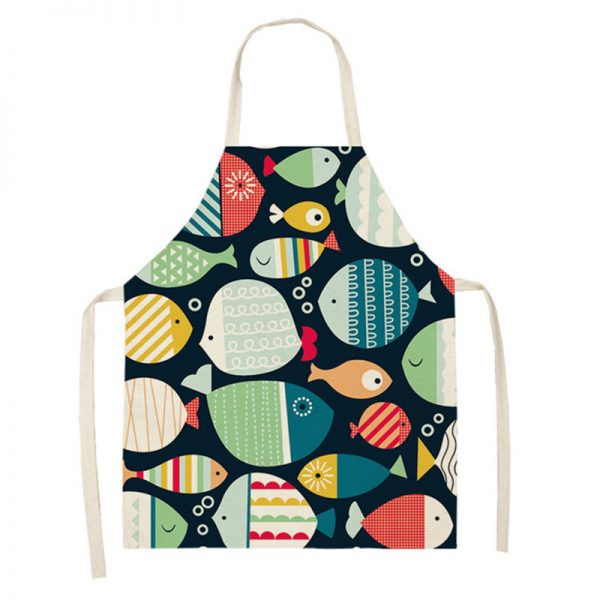 Apron For Kitchen Cute Cooking Apron 4