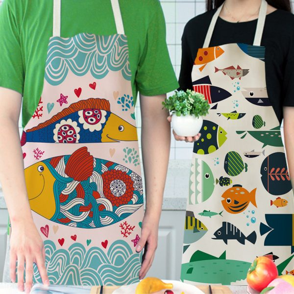 Apron For Kitchen Cute Cooking Apron