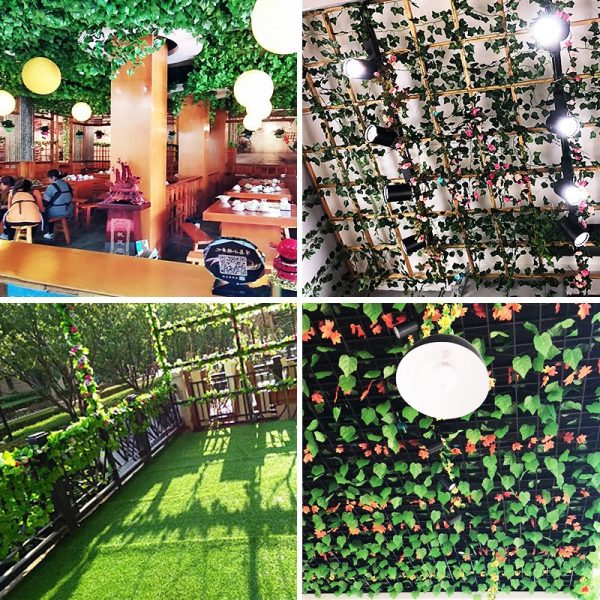 Artificial Plants Hanging Garland Decorations 4