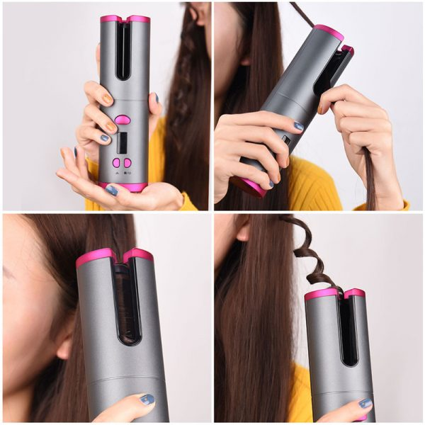 Auto Curler Cordless Hair Curling Iron 3