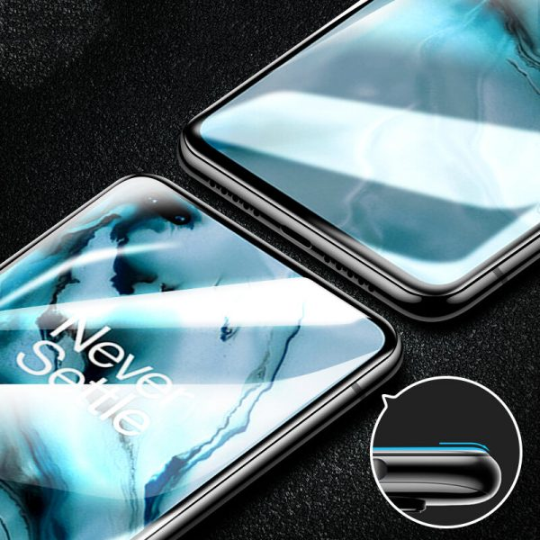 BAKEEY 1Pc2Pcs3Pcs5Pcs 9H Anti Explosion Anti Fingerprint Full Coverage Full Glue Tempered Glass Screen Protector for OnePlus Nord 4