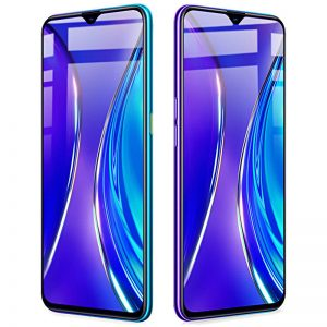 BAKEEY 9H Anti-Explosion Full Cover Full Gule Tempered Glass Screen Protector for Realme 5 Pro