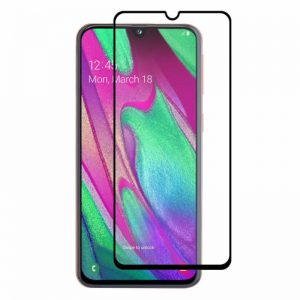 BAKEEY Anti-Explosion Full Glue Tempered Glass Screen Protector for Samsung Galaxy A40 2019