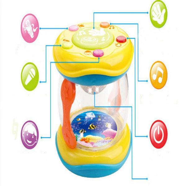 Baby Learning Toys LED Musical Hand Toy 2