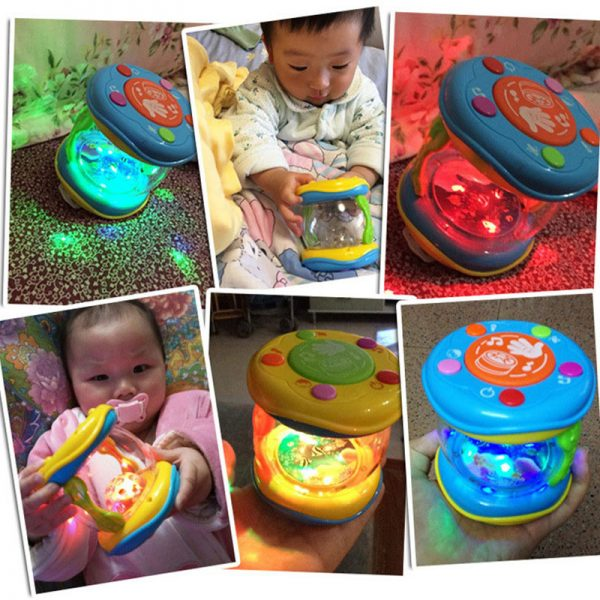 Baby Learning Toys LED Musical Hand Toy 4