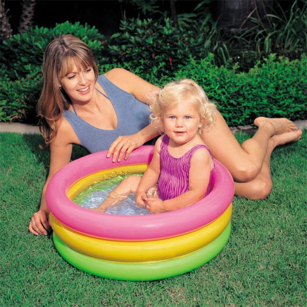 Baby Swimming Pool Round Inflatable 3