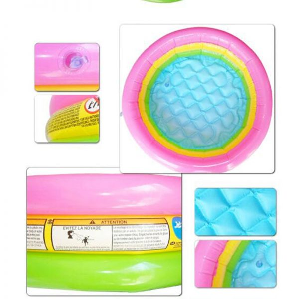 Baby Swimming Pool Round Inflatable 4