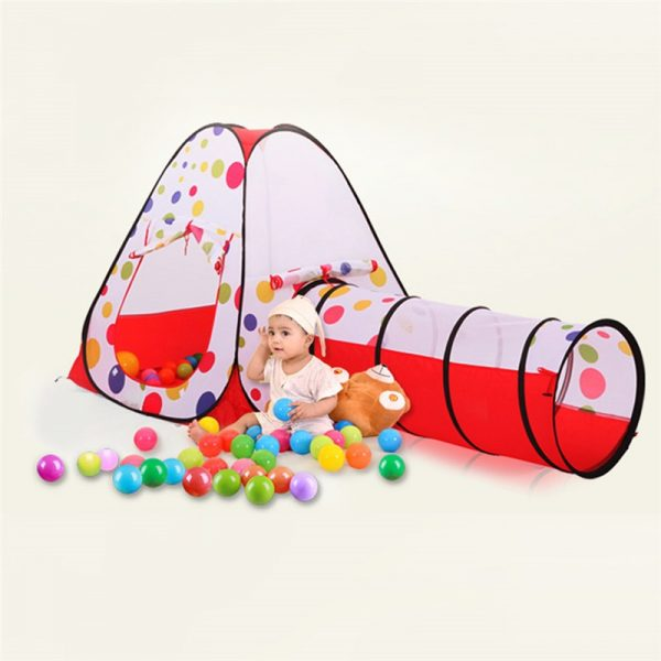 Baby Tunnel 3PC Portable Playhouse 2