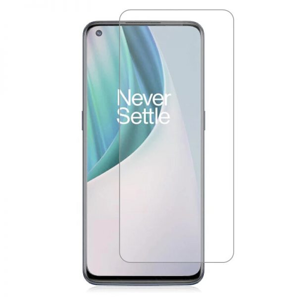 Bakeey 1/2/3/5Pcs for OnePlus Nord N100 Front Film 9H Anti-Explosion Anti-Fingerprint Full Glue Full Coverage Tempered Glass Screen Protector