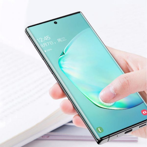 Bakeey 3D Curved Edge Scratch Resistant Tempered Glass Screen Protector For Samsung Galaxy Note 10Note 10 5G 1