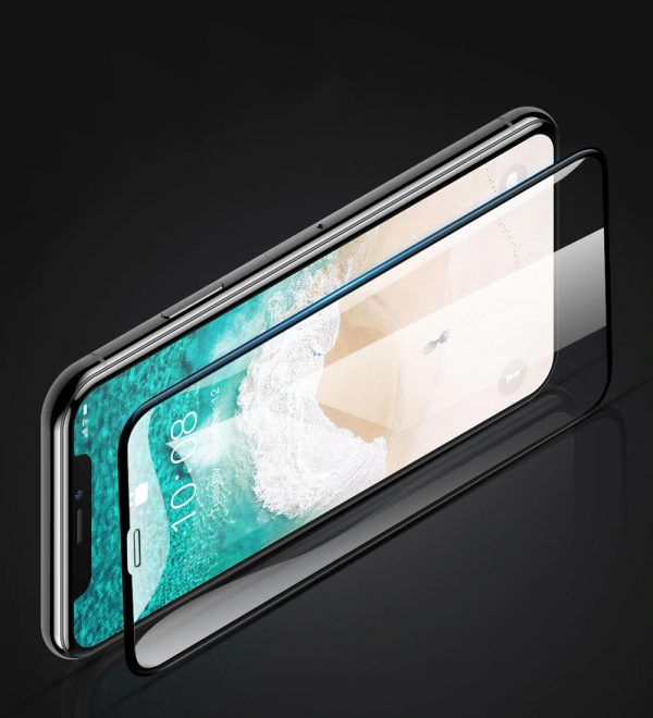 Bakeey 5D Full Coverage Anti explosion Tempered Glass Screen Protector for iPhone X XS iPhone 11 Pro 5.8 inch 1
