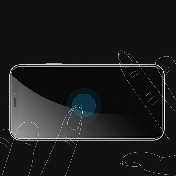 Bakeey 5D Full Coverage Anti explosion Tempered Glass Screen Protector for iPhone X XS iPhone 11 Pro 5.8 inch 3