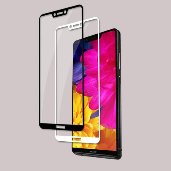 Bakeey Anti Explosion Full Cover Tempered Glass Screen Protector For SHARP AQUOS S3 1
