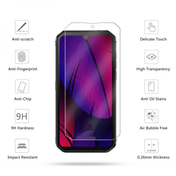Bakeey HD Clear 9H Anti Explosion Anti Scratch Tempered Glass Screen Protector for Blackview BV9900 1