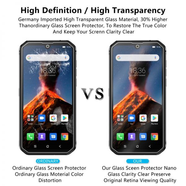 Bakeey HD Clear 9H Anti Explosion Anti Scratch Tempered Glass Screen Protector for Blackview BV9900 3
