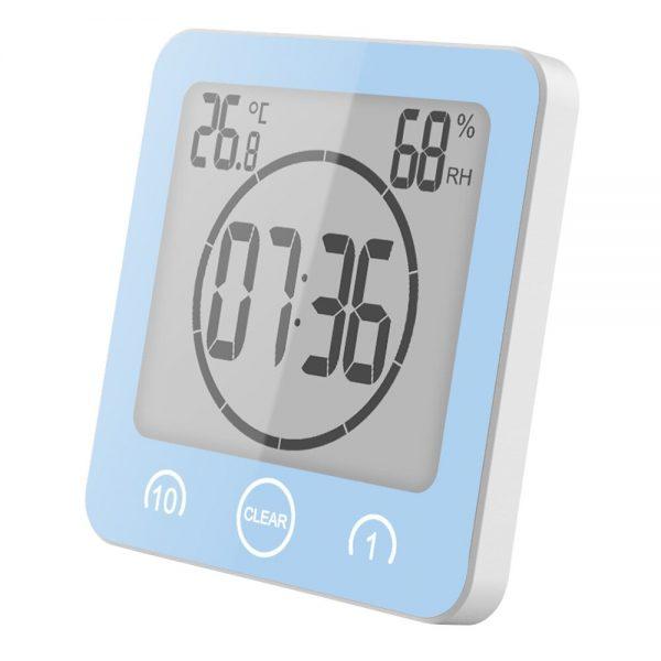 Bathroom Clock Digital Waterproof Device