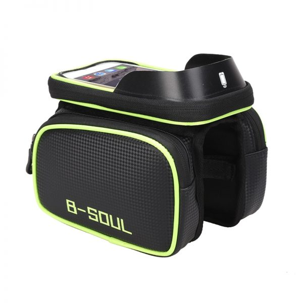 Bicycle Bag with Phone Holder 2