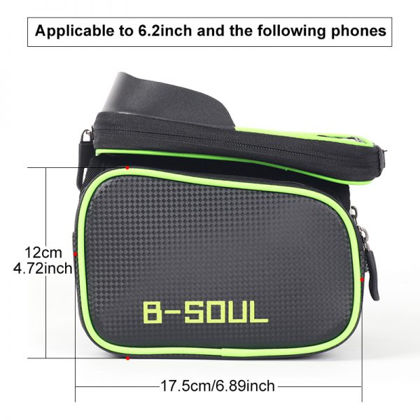 Bicycle Bag with Phone Holder 3